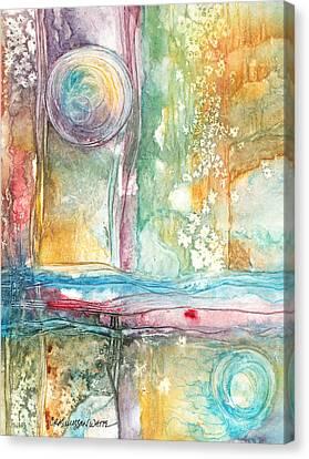 Undertow Canvas Print - Undertow by Casey Rasmussen White