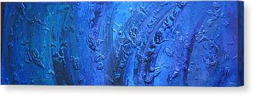 Undertow Canvas Print - Undertow by Marco Rosales Shaw