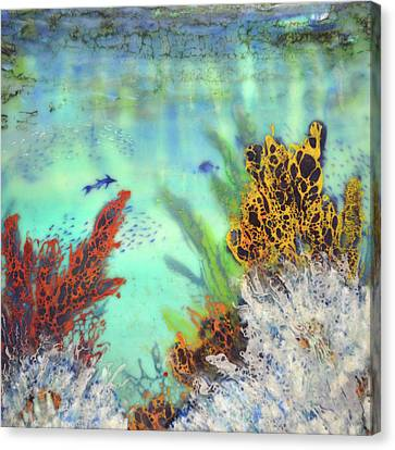 Underwater #2 Canvas Print