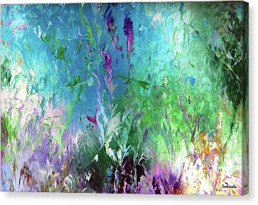 Underwater Dance Canvas Print by Jo Ann Bossems