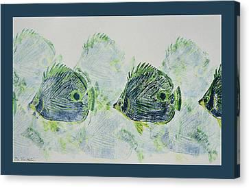 Underwater Impressions Canvas Print