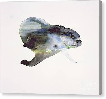 Underwater Canvas Print by Mark Adlington