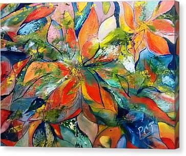 Patricia Taylor Canvas Print - Underwater Ocean Floral by Patricia Taylor