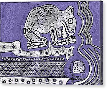 Wildlife Celebration Canvas Print - Underworld by Jose Luis Montes