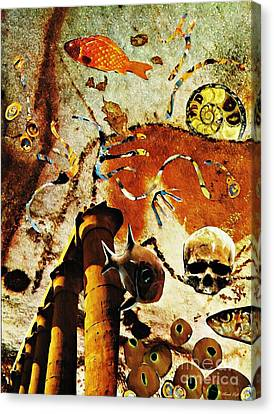 Underworld Canvas Print by Sarah Loft