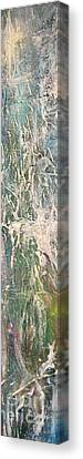 Canvas Print featuring the painting Undewater 2 by Diana Bursztein