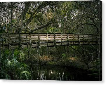Undisturbed By Time Canvas Print by Marvin Spates