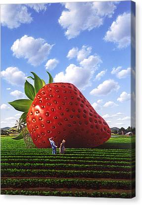 Unexpected Growth Canvas Print