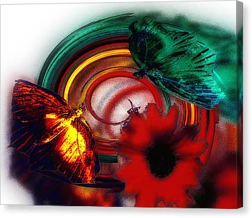 Unfolding Possibilities Canvas Print by Another Dimension Art