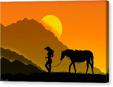 Unforgiven Canvas Print
