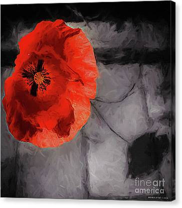 Unforgotten Canvas Print by Mona Stut