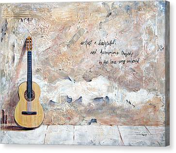 Unheard Canvas Print by Patrick Parker