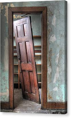 Panel Door Canvas Print - Unhinged by Jane Linders