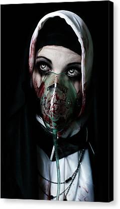 Unholy Canvas Print by Aston Futcher