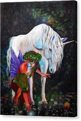 Canvas Print - Unicorn Magic by Michael Durst