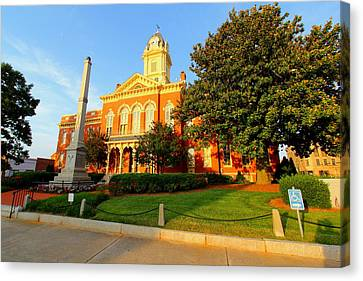 Union County Court House 10 Canvas Print