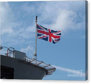 Union Jack Canvas Print by Richard Brookes