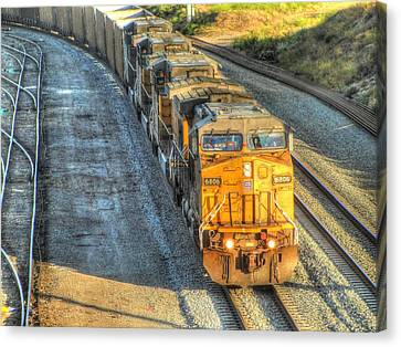 Union Pacific # 6806 Canvas Print by Randy Dyer