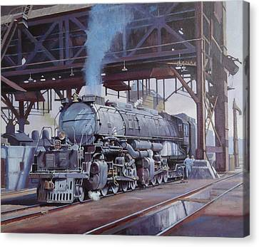 Union Pacific Big Boy Canvas Print