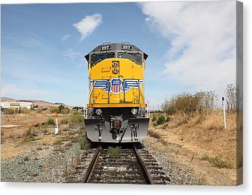 Benicia Canvas Print - Union Pacific Locomotive Trains . 5d18644 by Wingsdomain Art and Photography