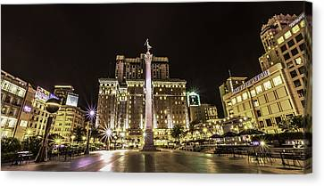Union Square Canvas Print by Phil Fitzgerald