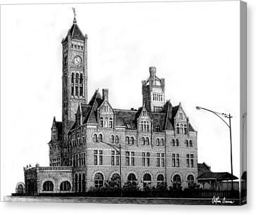 Union Station, Nashville Canvas Print by Arthur Barnes