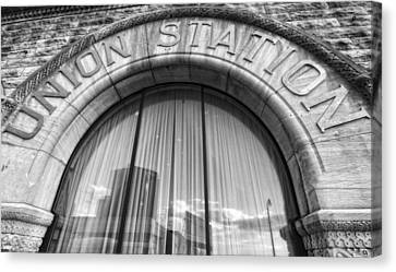 Union Station Nashville Tennessee Canvas Print by Dan Sproul
