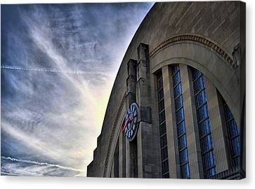 Union Terminal Canvas Print by Russell Todd