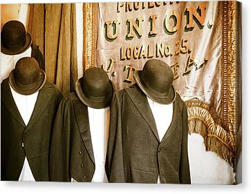 Union Vintage Clothing Canvas Print by Steven Bateson