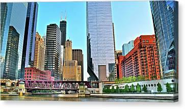 Unique Chicago Panoramic Canvas Print