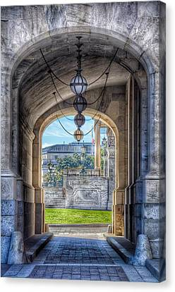 United States Capitol - Archway Canvas Print