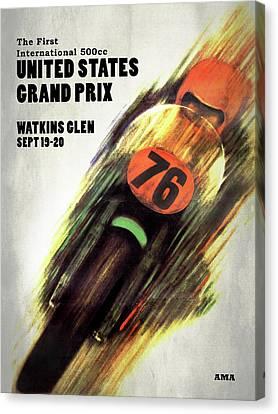 United States Grand Prix Canvas Print