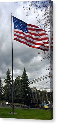 United States Stars And Stripes Canvas Print