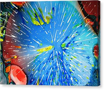 Universe Three Canvas Print by David Raderstorf
