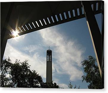 University At Albany Tower Canvas Print