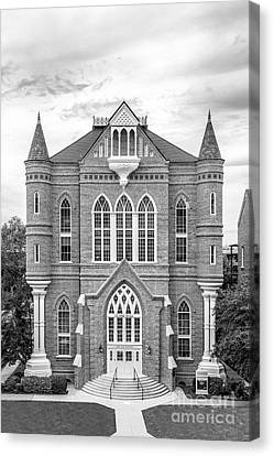 University Of Alabama Clark Hall Canvas Print by University Icons