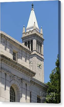 University Of California Berkeley Historic Ide Wheeler Hall And The Campanile Dsc4068 Canvas Print
