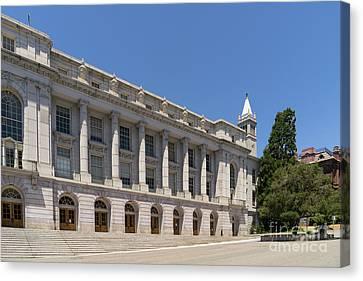 University Of California Berkeley Historic Ide Wheeler Hall South Hall And The Campanile Dsc4064 Canvas Print