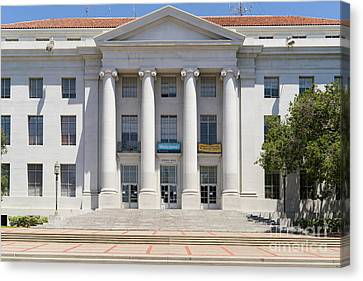 University Of California Berkeley Historic Sproul Hall At Sproul Plaza Dsc4081 Canvas Print