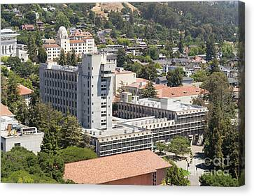 University Of California Berkeley Wurster Hall College Of Environmental Design Dsc4103 Canvas Print by Wingsdomain Art and Photography