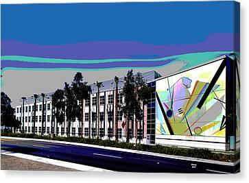 University Of California Canvas Print