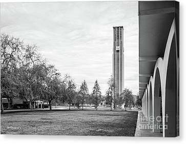 University Of California Riverside Bell Tower Canvas Print