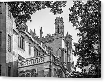 University Of Chicago Collegiate Architecture Canvas Print by University Icons