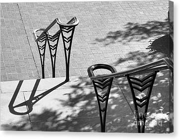 Great Cities Universities Canvas Print - University Of Cincinnati Railings by University Icons