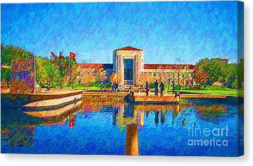 University Of Houston  Canvas Print