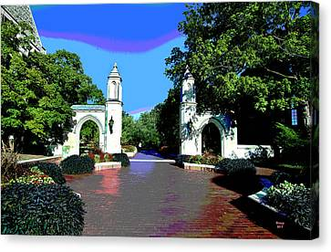 University Of Indiana Canvas Print