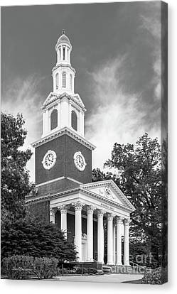 University Of Kentucky Memorial Hall Canvas Print by University Icons