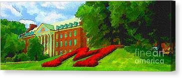 University Of Maryland  Canvas Print