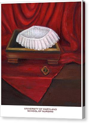 University Of Maryland School Of Nursing Canvas Print by Marlyn Boyd