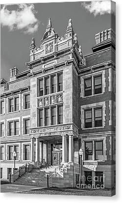 Big East Conference Canvas Print - University Of Minnesota Folwell Hall by University Icons